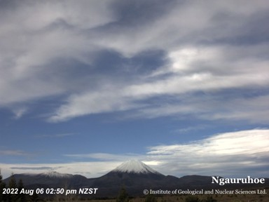 Ngauruhoe (Mountain) Webcam