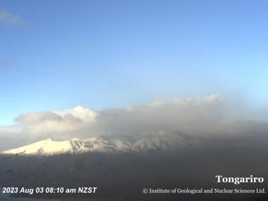Tongariro (Mountain) Webcam